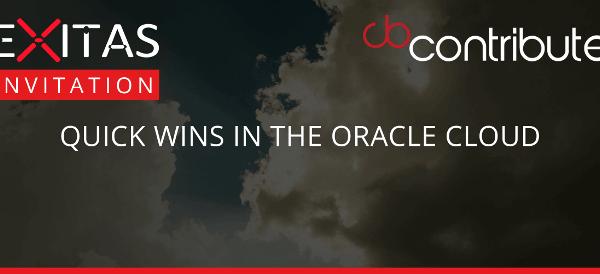 exitas contribute oracle cloud event header